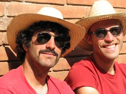 die zwei Schoensten-Pol und Martin
